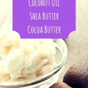 The Allergy Scoop-Coconut OilShea ButterCocoa Butter