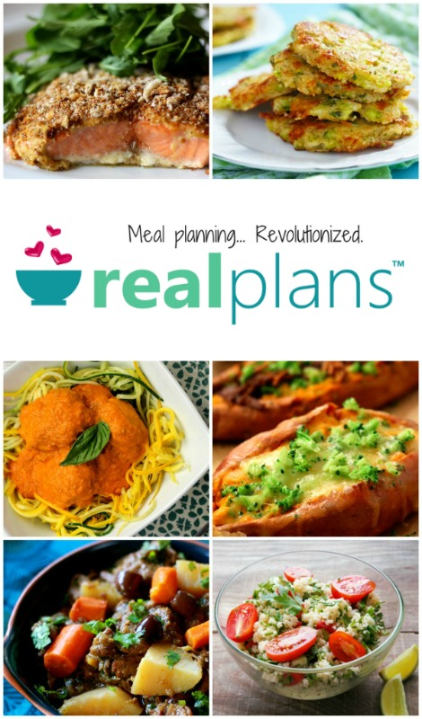 Real Plans allergy free meal planning