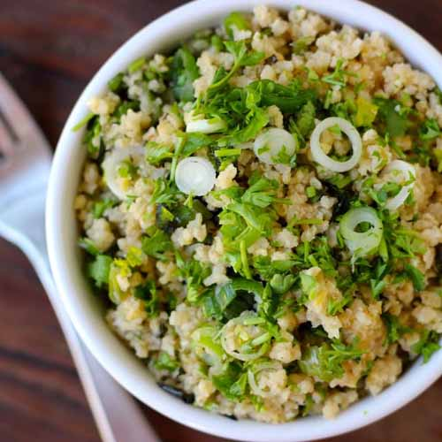 Real Plans Lemon Herb Millet Salad