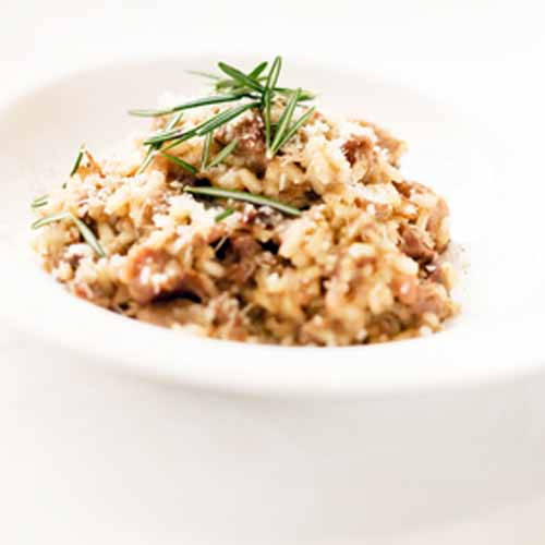 real plans mushroom risotto