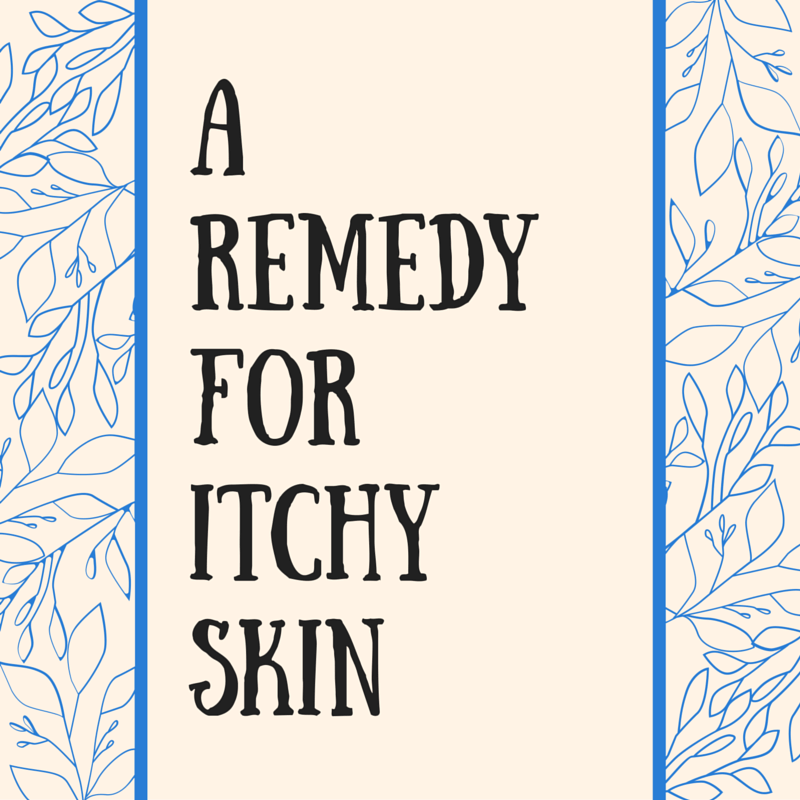 Remedy for Itchy Skin Blog Image