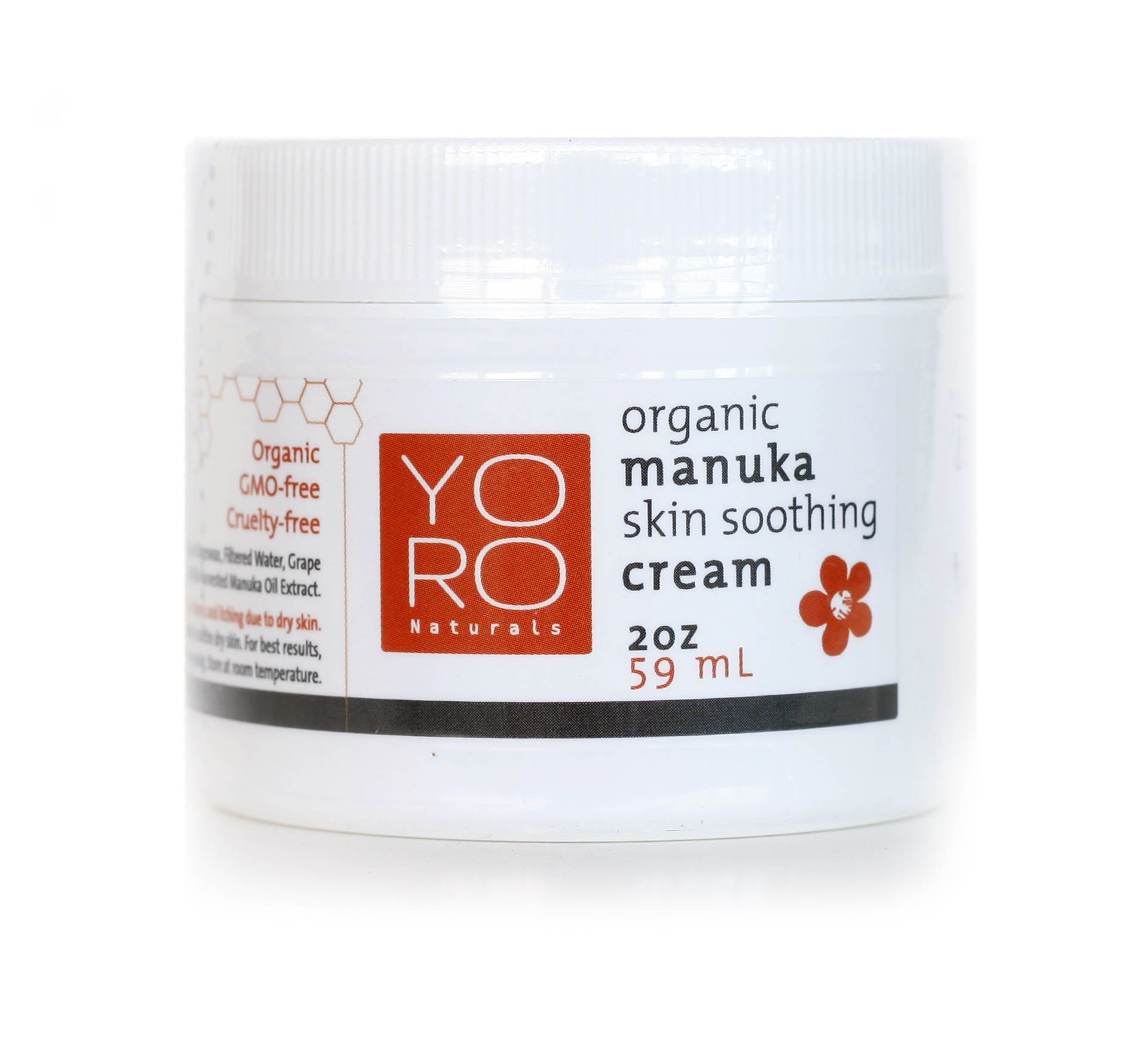 Organic Manuka Skin Soothing Cream previously called Manuka Honey Skin Cream