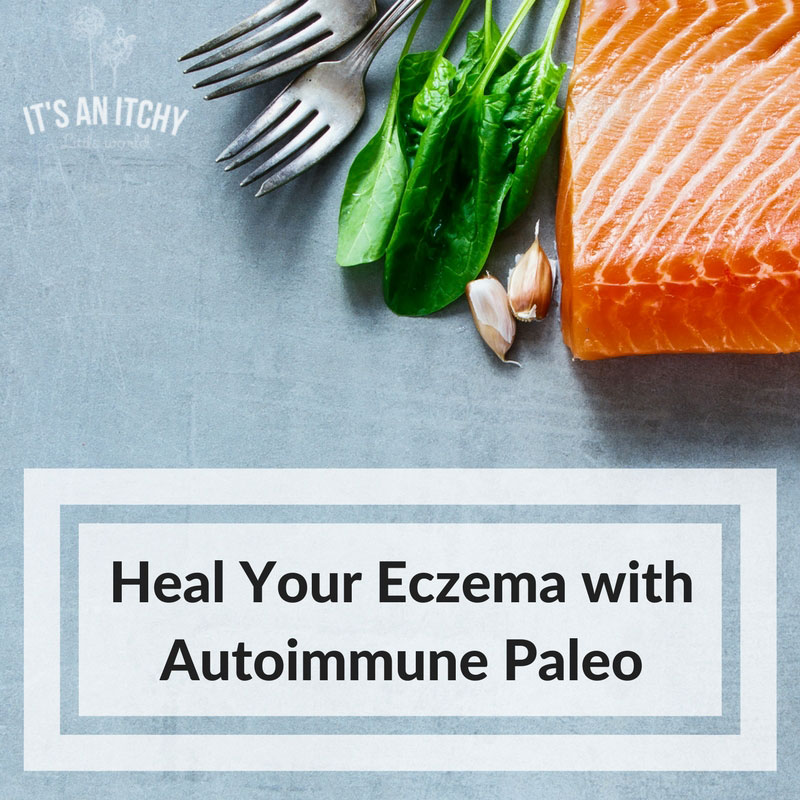 Try modifying your diet with the autoimmune paleo methodology to eliminate eczema.