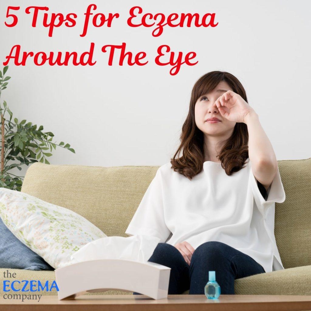 eczema around the eye