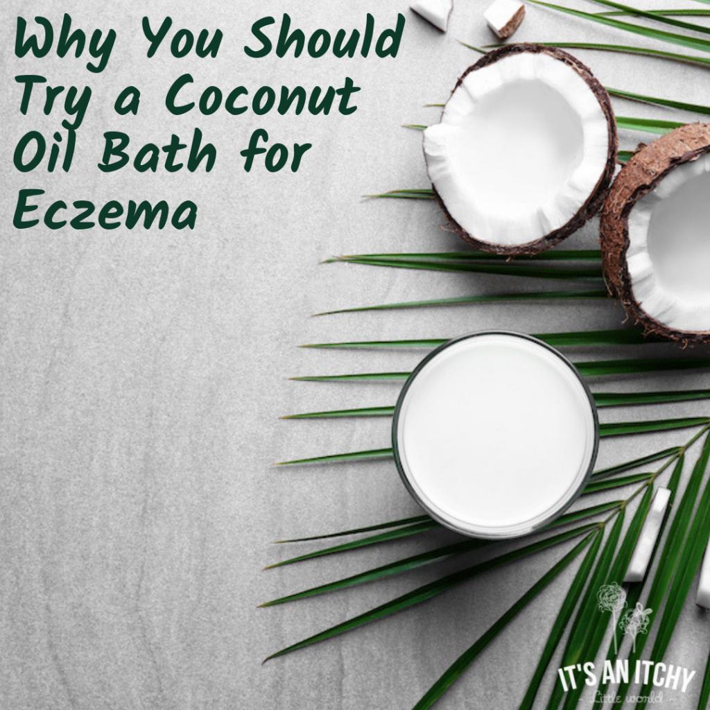 coconut oil bath
