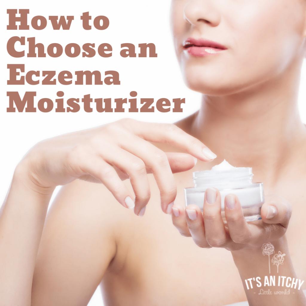 woman putting on moisturizer - eczema moisturizer