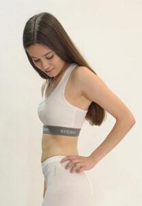womans bra side