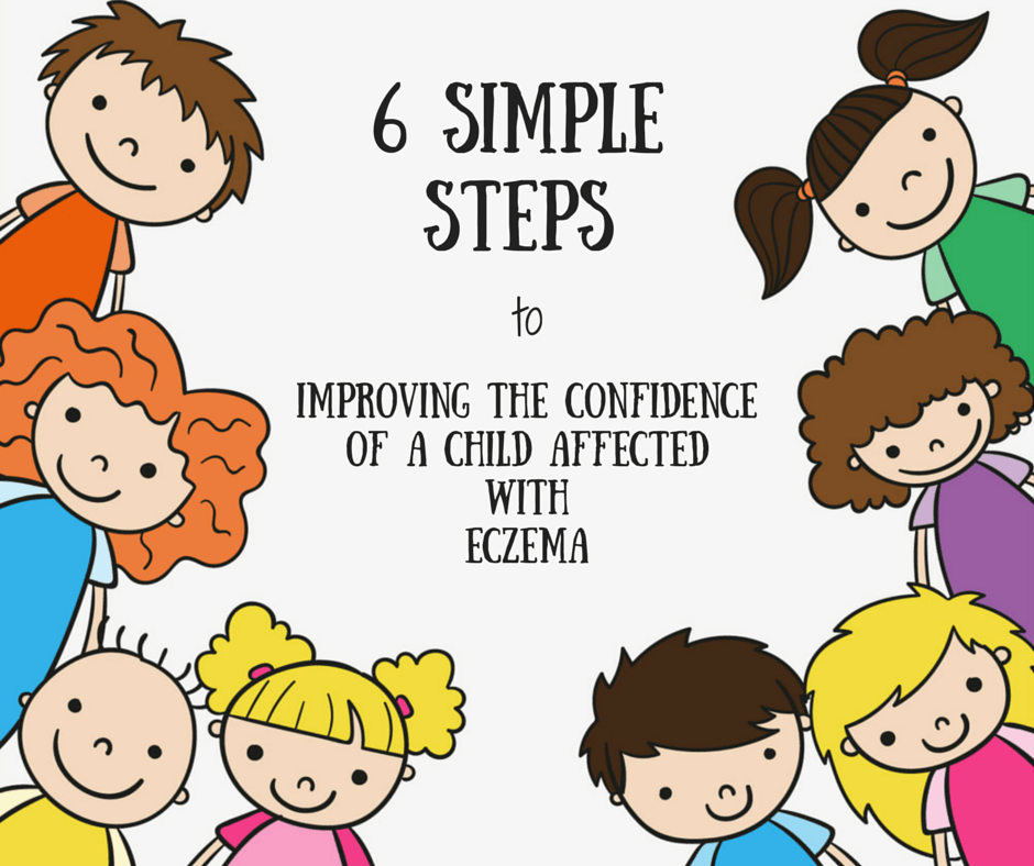 6 Major Steps to Improve The Confidence Of Children With Eczema