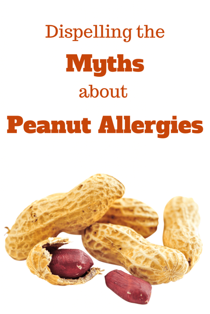 Dispelling the myths about peanut allergies