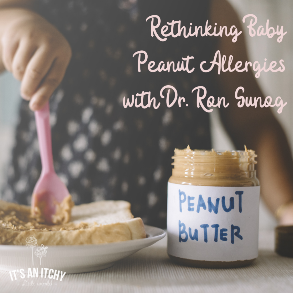 baby peanut allergies, baby food allergens
