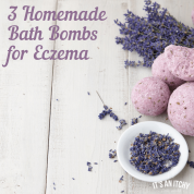 3 Homemade Bath Bombs for Eczema