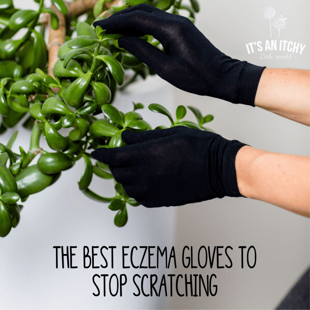 Eczema Gloves to Stop Scratching, Black Eczema Gloves